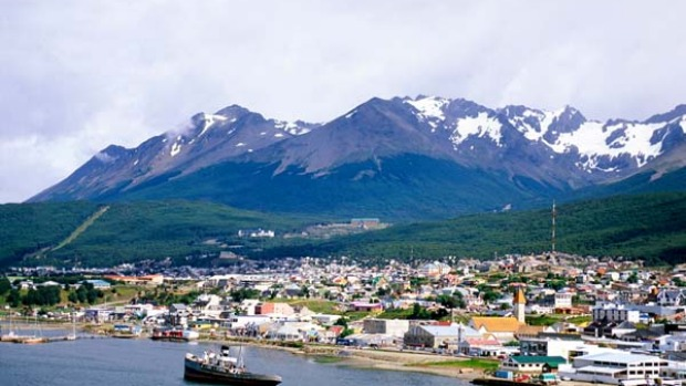 It's the end of the world as we know it ... Ushuaia.