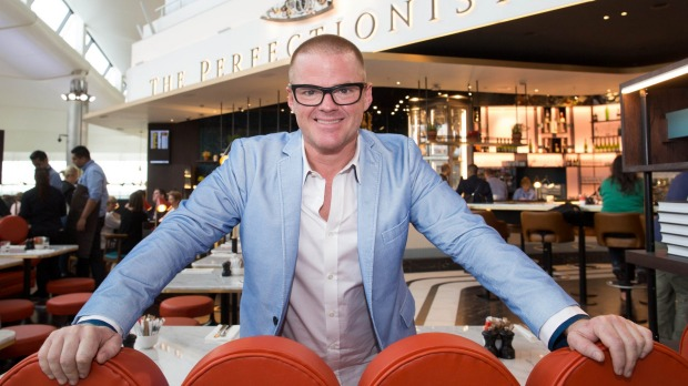 Heston Blumenthal's The Perfectionists' Café is said to offer pizzas to go in about a minute.