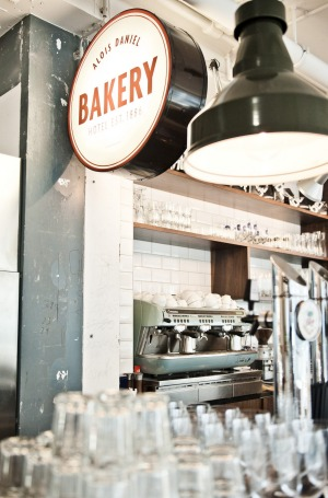 Bakery: It's a bar, café and restaurant rolled into one tricky-to-pigeonhole social space, albeit with tremendous cakes