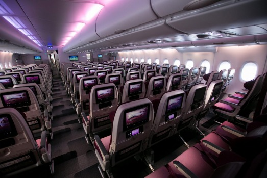 The Qatar A380 features a total of 517 seats spread across three classes: eight in first class; 48 in business class and ...