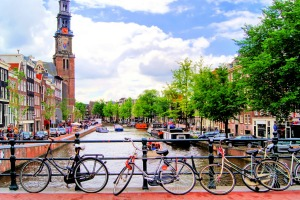 Get a return economy airfare to Amsterdam via Bali from $1,249.