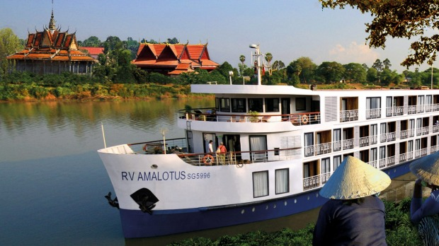 Embark on a seven-night lower Mekong cruise to Siem Reap aboard the AmaLotus.
