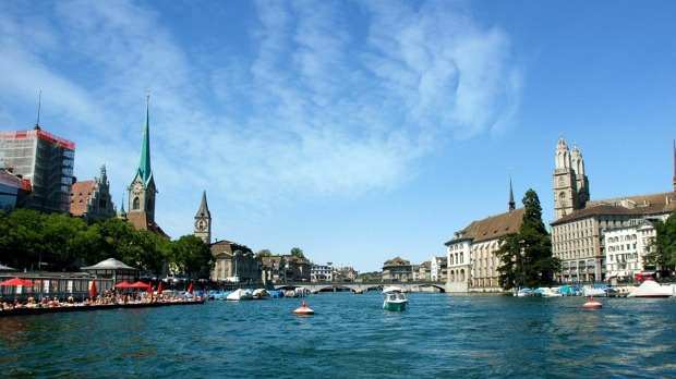 Magnificent vistas: Skip off the beaten European path and head to Zurich for a Swiss winter.