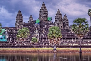 Colourful cultures: Angkor Wat, Cambodia.