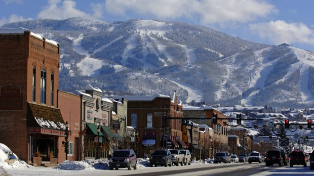 Mild West: The town of Steamboat has streets wide enough to allow cattle to be mustered right through.