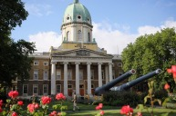 Call to arms: The Imperial War Museum in London.