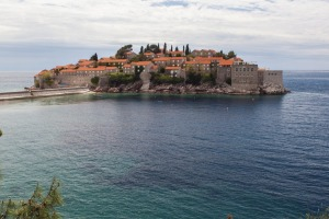 ADRIATIC IDYLL: Sveti Stefan dates from about 1440.