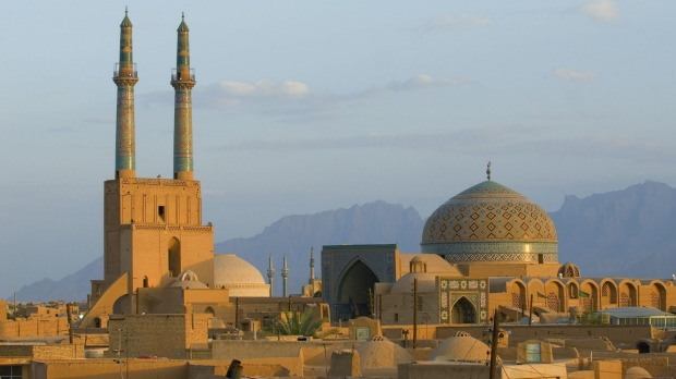 Picture perfect: Sunset over the south-east Iranian city of Yazd.