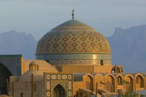 The ancient city of Yazd in Iran, where travelling is easiest with a guided tour.