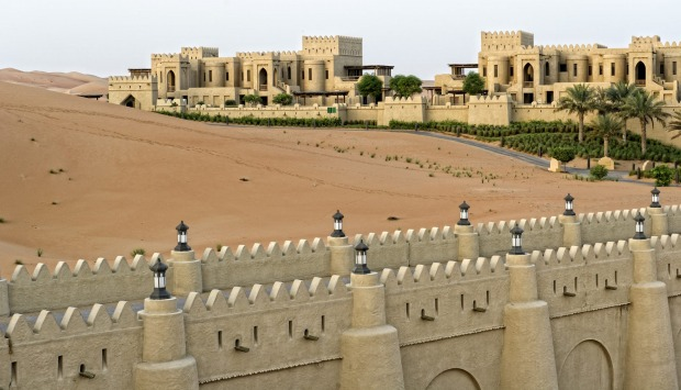 <b>Photo five: Qasr Al Sarab</b></br> The amateur says: This was taken at sunrise. The design of the building is ...