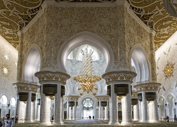 <b>Photo two: The Grand Mosque</b></br> The amateur says: The inside of the mosque was jaw-dropping. I took detailed ...