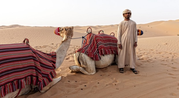 <b>Photo seven: Cameleers</b></br> The amateur says: The cameleers who guided us on our camel trek exuded a calmness and ...