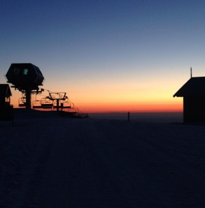 Mt Buller sunset.