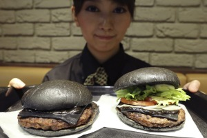 """Its the sauce that makes the burger."" The Kuro burger is the new black."