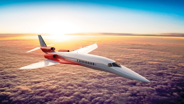 The Aerion AS2 supersonic business jet.