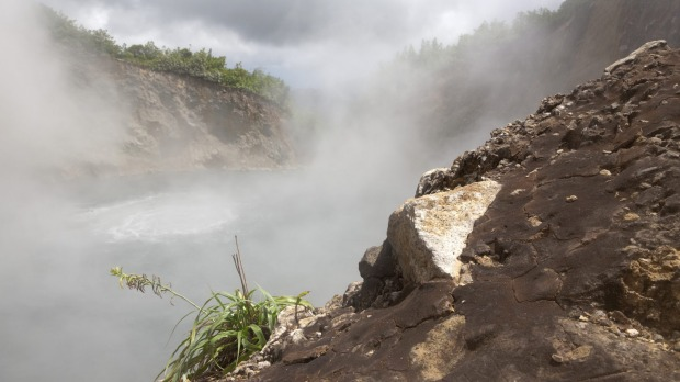 Too hot to measure: The Boiling Lake, Dominica.