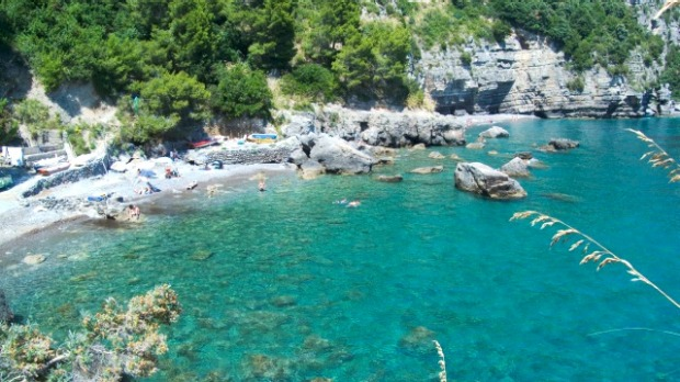 Spiaggia di Tordigliano, Campania: Only accessible by yacht, or by a rocky, two kilometre-long hillside trail, this ...