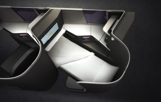 Virgin Australia business-class  A330s and Boeing 777s.