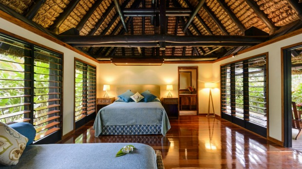 Jean-Michel Cousteau, Fiji: Located on a former coconut plantation, the 25 recently renovated bures and villa sit on a ...