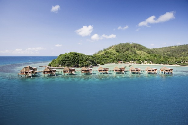 Likuliku Lagoon Resort, Fiji: This adults-only resort boasts the country's only over-water bungalows.