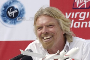 """Virgin boss Richard Branson said the deal would let the airline to """"prosper and grow"""" in coming decades """"as I get a ..."""