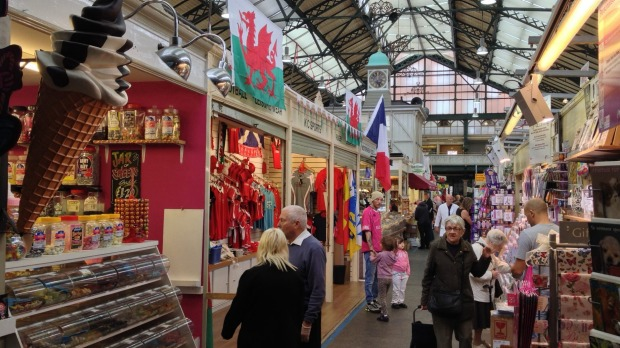 Choices, choices: There's pretty much something for everyone in Cardiff's shopping arcades.