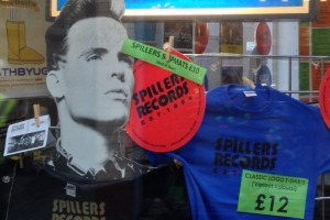 Hanging in: Spillers Records continues to do business in the ever-changing music industry.