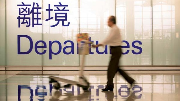 In transit ... Hong Kong International has been named the most efficient airport in Asia.