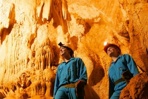 Underground adventure: Capricorn Caves has been a tourist attraction since 1884.