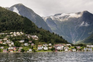 A village on the Sognefjord.