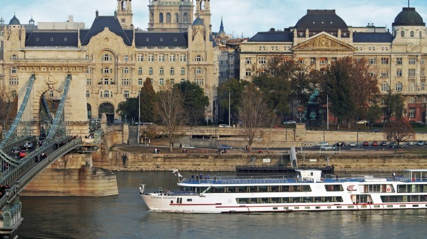 Cruising on a longship in Budapest with Viking River Cruises