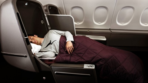 Cutting-edge when first unveiled, Qantas' A380 business class seats have been superseded by its Dreamliner and A330 seat ...
