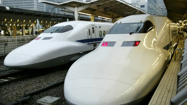 The bullet train, or shinkansen, is turning 50 years old this month.