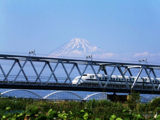 Number 2: Japan. Pictured, Mount Fuji.