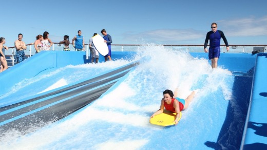 Voyager of the Seas flowrider.
