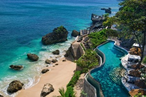 Island of the gods: For sensible and careful parents Bali is a low-risk destination.