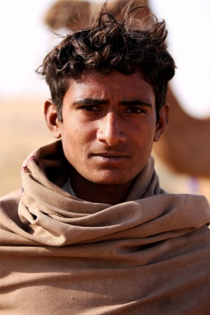 Young camel driver, Thar Desert, India I took this image of a young camel driver in the Thar Desert in India this year. ...