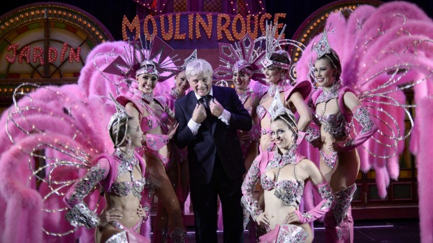 Shrugging off the economic crisis, the Moulin Rouge is sold out nearly every night. Jean-Jacques Clerico, centre, is the ...