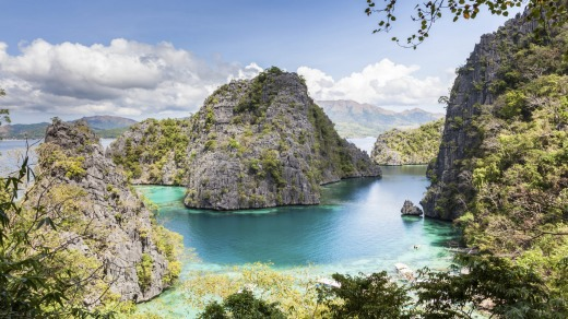What a dive: Coron, in the Philippines, is popular with divers because of the World War II wrecks.