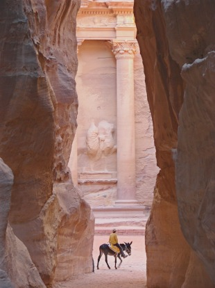 Archaeological adventure: Petra, Jordan.