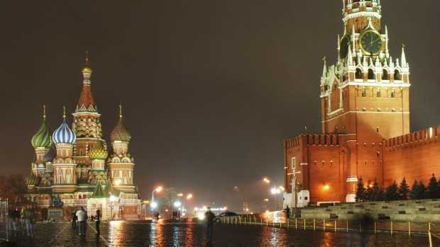 Piece of history: Red Square in Moscow.
