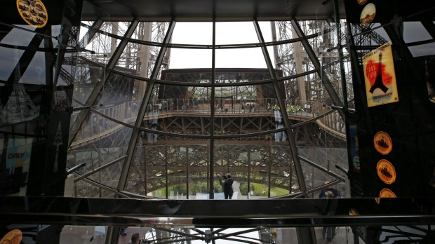 Previously the first floor was the least visited part of the tower, but a new glass floor is expected to draw more ...