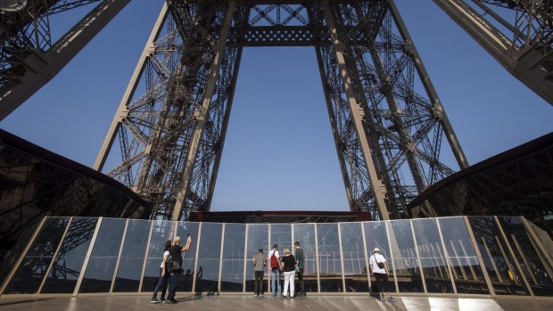 Visitors now have a bird's eye view from 57 metres above the ground.