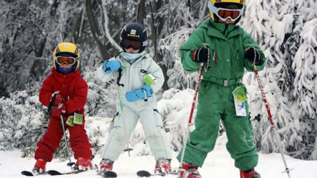Beginners ... ski schools cater for all levels of experience.