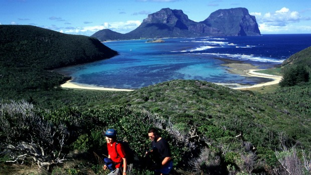 Scenic views: Take a walk around North Head, Lord Howe Island.