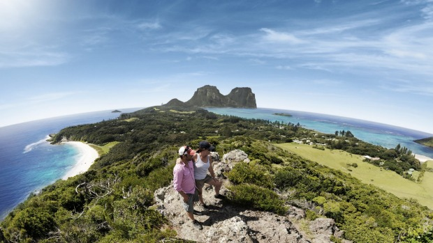 Walk it off: Lord Howe Island is laced with well-marked hiking trails that range in difficulty from easy coastal strolls ...
