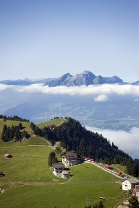 Natural attractions: Rigi in the Swiss Alps.