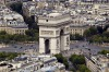 More intimate scenes: Arc de Triomphe in Paris.