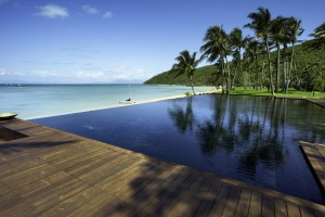 Idyllic: The Orpheus Island resort in Queensland.