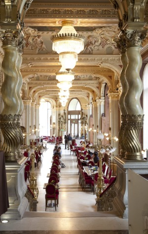 Old world splendour: New York Cafe, in Budapest.